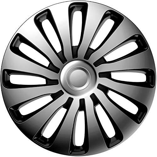 J-Tec J15516 Sepang Wheel Trims, Silver/Black, 15 Inch