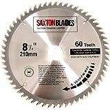 Saxton TCT Kreissägen-Blatt für Bosch, Makita etc,  210x30x60mm