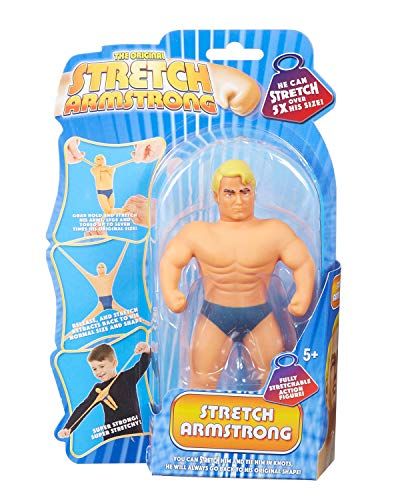 Mini Stretch Armstrong 34382 - Mini Stretch Figur Armstrong, Actionfigur, hautfarben