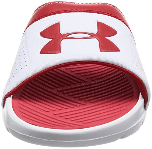 Under Armour Ua M Playmaker Vi Sl, Chaussures de Plage et Piscine Homme Gris (White 106)