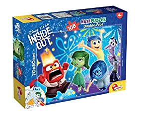 Lisciani Giochi 55319 - Puzzle DF Supermaxi 108 Inside out My Emotions
