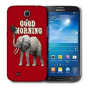 Snoogg Good Morning Designer Protective Back Case Cover For Samsung Galaxy Mega 6.3