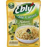 Ebly Express - Express Blé Nature Huile d'Olive Cuisson en 2 Minutes Le sachet de 220g - Prix Unitaire - Livraison...