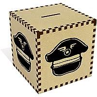 Preisvergleich für Azeeda Groß 'Hut des Piloten' Sparbüchse / Spardose (MB00056144)