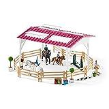 Schleich 42389 42389-Reitschule mit Reiterinnen und Pferden