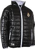 Real Madrid - RMA-SE-10001 - Doudoune - Mixte Enfant - Noir - FR: 12 ans (Taille...