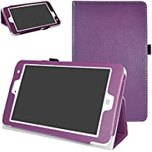 "Chuwi Hi8 Pro / Hi8 / Vi8 Plus Funda,Mama Mouth Slim PU Cuero Con Soporte Funda Caso Case para 8"" Chuwi Hi8 Pro / Hi8 / Vi8 Plus Windows 10 & Android 5.1 Dual sistemas Tablet PC,Púrpura"