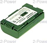 2-Power VBI9523A batería para cámara/grabadora Ión