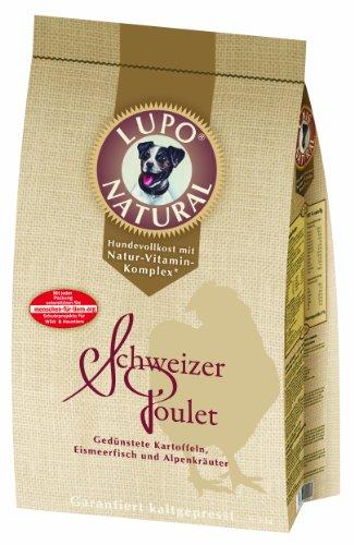 Lupo Natural Schweizer Poulet Hundefutter (kaltgepresst) 15kg