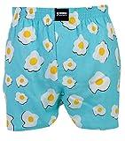 Happy Shorts Webboxer Herren Boxer Motiv Boxershorts Farbwahl, Grösse:M - 5-50, Präzise Farbe:Design 6