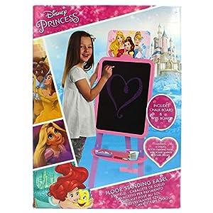 Sambro- Princesas Disney Pizarra pie 2en1-120x40x38cm, Multicolor (DSP13-4565)