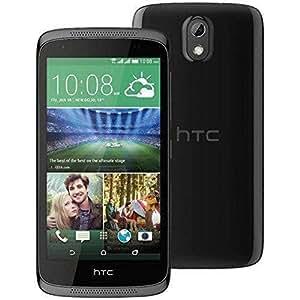 HTC Desire 526G Smartphone (12 cm (4,7 Zoll) Display, 8GB interner Speicher, Android 4.4 OS) Stealth Schwarz