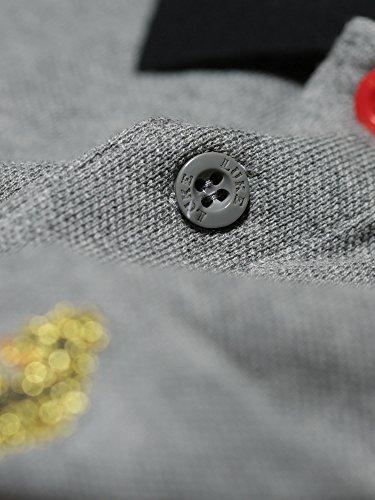LUKE SPORT Herren Poloshirt Marle Grey