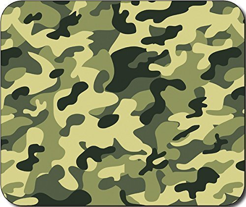 Green Camo Large Great Gift Idea mousepads pink mouse pads with wrist support 7.5*9 (7.5 Camo)