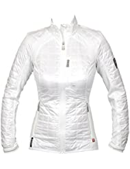 J. tilo Berg Bona Hybrid JKT pertex Q, mujer, color white (0000), tamaño extra-large