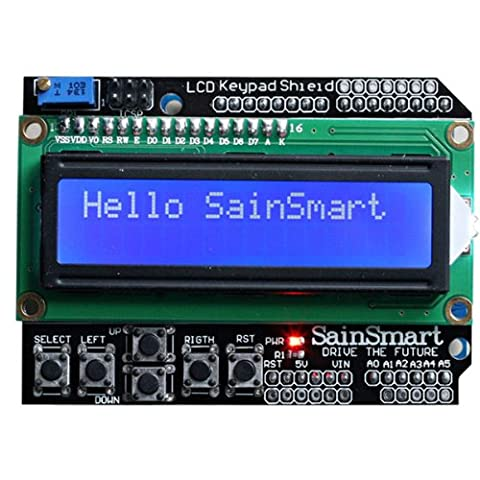 SainSmart 16 x 2 bouclier clavier LCD pour Arduino Uno Duemilanove méga