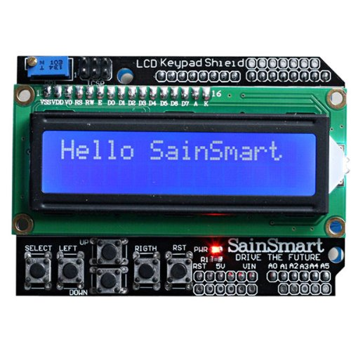 SainSmart LCD Keypad Shield Für Arduino UNO MEGA Duemilanove