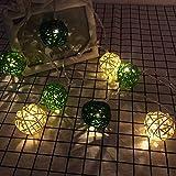 Best F&W String Lights - Decorative Lights LED Star String Lights Balls Starry Review