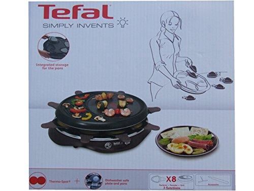 Tefal Raclette RE 5160 cherry black EAN: 3168430094697