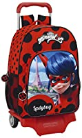 Safta 611702160 Ladybug Mochila escolar, 42 cm, Rojo