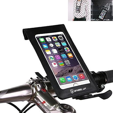 Bike Handlebar Bag, XPhonew Waterproof Ultra Thin Phone Case/ Pouch