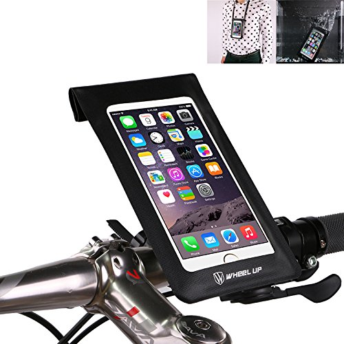 XPhonew Fahrrad Lenker Tasche, Wasserdicht Ultra Thin Case / Tasche Mtb Mountain City Road Bike Phone Tasche Touch-Bildschirm Universal-Dry Bag Mit Fahrrad Handy Halterung (Bag Road Bike)