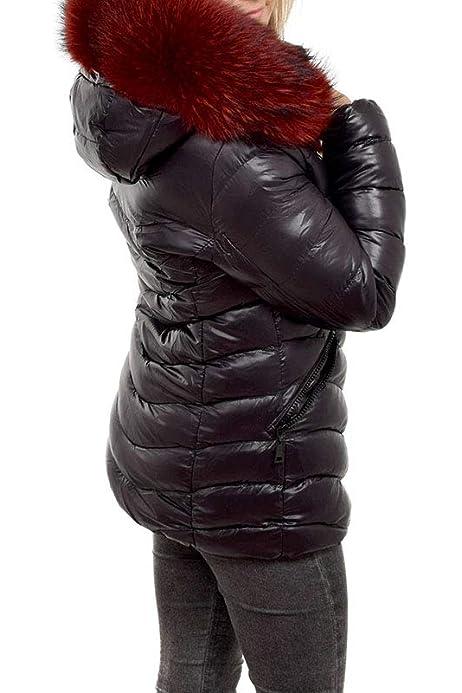 khujo damen jacke winterjacke steppjacke retro-midd