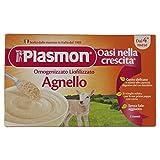 Plasmon Liofilizzati Agnello - 3 vasetti da 10 gr - Totale: 30 gr