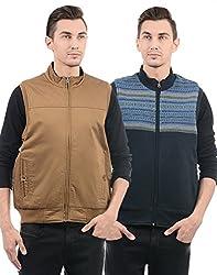 Monte Carlo Mens Cotton Jacket (217039511-1_Brown_42)