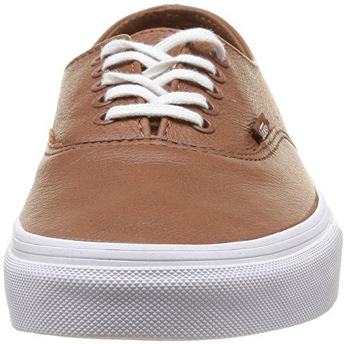 Vans U Authentic Decon Leather, Unisex-Erwachsene Sneakers Braun (premium  Leather/tortoise ...
