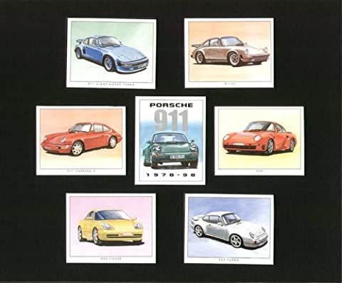 Porsche 911classique Sport Cars 1978–1998–911SC, 911slant-nose, 959, 911Carrera 2, 993Turbo,