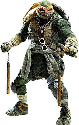 Teenage Mutant Ninja Turtles Action Figur 1/6Michelangelo 30cm (Nunchucks Ninja Turtle Mutant Teenage)