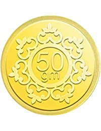 IBJA Gold  50 gm, 24K(995) Yellow Gold Coin