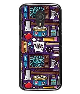 PrintVisa Graphic River Travel Doodles High Gloss Designer Back Case Cover for Meizu M2 Note :: Meizu Note 2