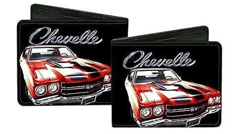 Chevrolet Automobile Company Chevy Chevelle Car Bi-Fold Wallet
