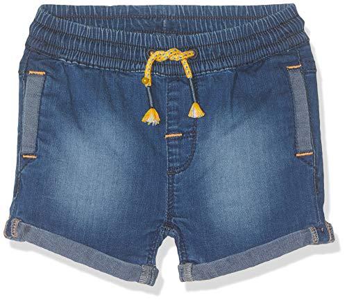 s.Oliver Junior Baby-Jungen 56.899.72.0744 Shorts, Blau (Blue Denim Stretch 55Z7), Herstellergröße:86/REG