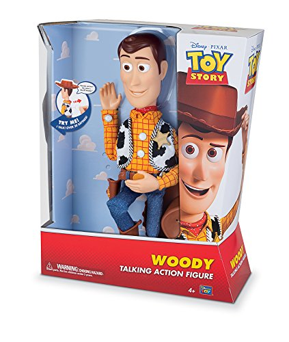MTW Toys 64071 - Disney Pixar Toy Story - Sprechender Sheriff Woody, Actionfiguren, 12 x 37 x 8 cm - 4