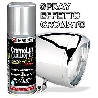 MACOTA Spray Effekt Chrom ! Verchromt für alle SUPERFICI 200ml Allzwecklack CromoLux