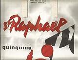 Publicité ancienne sac papier épais St Raphaël quinquina ( rare )