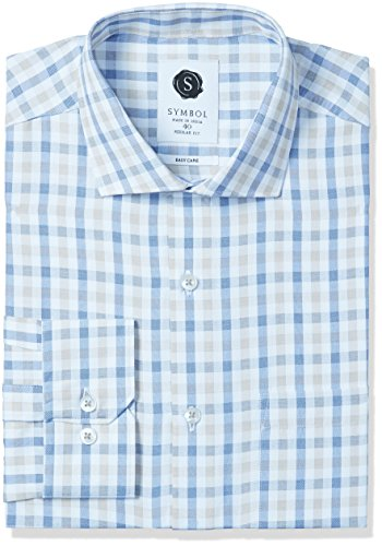 Symbol-Mens-Formal-Checks-Regular-Fit-Shirt