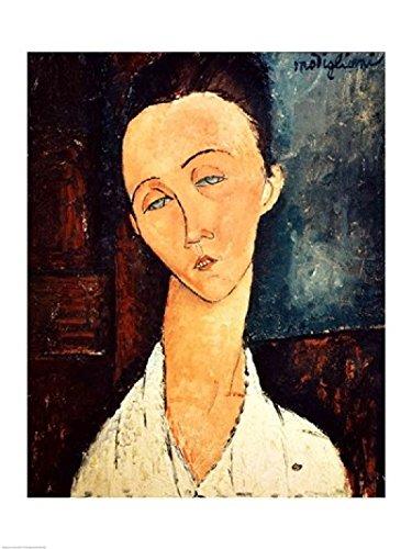 Amedeo Modigliani Kunstdruck (The Poster Corp Amedeo Modigliani - Portrait of Lunia Czechowska 1918 Kunstdruck (60,96 x 91,44 cm))