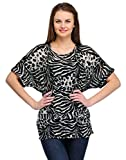 Colornext Cotton Brown Top for Women (Si...