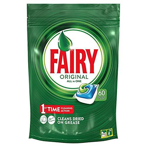 Fairy Cápsulas de Lavavajillas - 60 Unidades