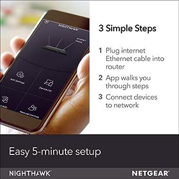 Netgear AC3200 - R8000 Nighthawk X6 Tri-Band Wi-Fi Router