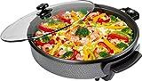 Die besten Partypfannes - Clatronic PP 2914 Partypfanne zum Kochen, Braten, Dünsten Bewertungen