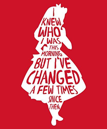 -- Alice Changed -- Girls T-Shirt auch im Unisex Schnitt Rot