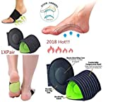 #9: Skudgear New Absorb Shocking Foot Arch Support Plantar Fasciitis Heel Pain Aid Feet Cushioned Relief Shock Healthy Care