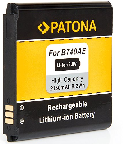 Bundlestar * Qualitätsakku für Samsung B740 AE -- Intelligentes Akkusystem - 100% kompatibel