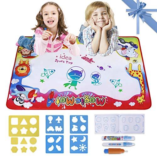 Aqua Wasser Doodle Matte Magic Zeichnung Pad für Kinder Groß Spielzeug 34