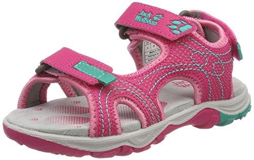 Jack Wolfskin Acora G, Sandales de Sport Fille, Tropic Pink
